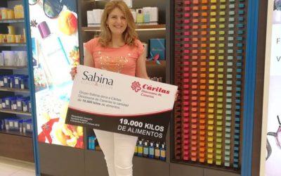 Campaña perfumerías Sabina